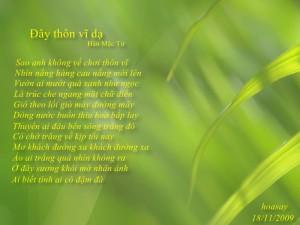 """Bài thơ """"Đây thôn Vĩ Dạ"""""""