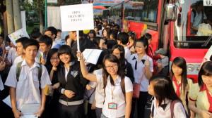Chỉ tiêu tuyển sinh của Đại học Quốc gia TP.HCM 2013