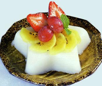 Rau câu hoa quả