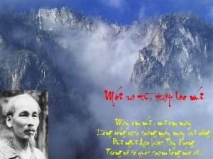 """Phân tích bài thơ """"Mới ra tù tập leo núi"""" của Hồ Chí Minh"""
