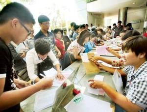 Điểm xét tuyển NV2 vào ĐH Thái Nguyên, diem xet tuyen NV2 vao DH Thai Nguyen