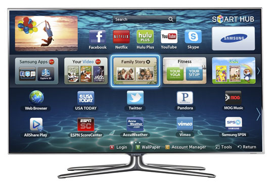 Samsung ES7100 HDTV review, coupon for F7100 HDTV