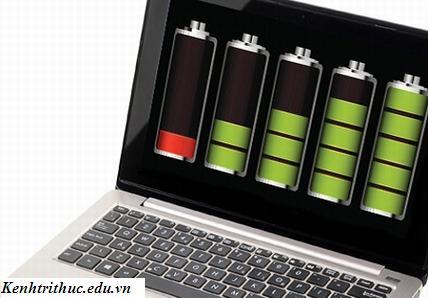 Quản lý nguồn điện để sử dụng pin laptop đúng cách, quan ly nguon dien de su dung pin laptop dung cach