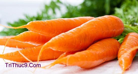Cà rốt là một trong những thực phẩm tốt cho sức khỏe